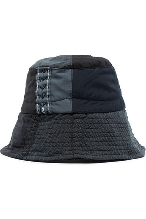By Walid Mænd Hatte - Shirting patchwork bucket hat