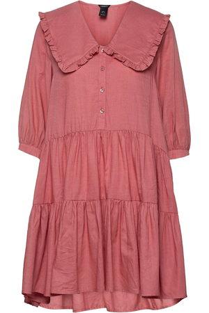 Lindex Kvinder Kjoler - Dress Galaxy Dresses Everyday Dresses Lyserød
