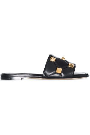 VALENTINO GARAVANI Roman Stud slip-on sandaler