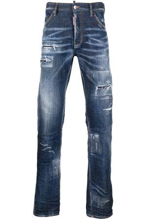 Dsquared2 Mænd Bootcut - Bootcut-jeans med slitageeffekt