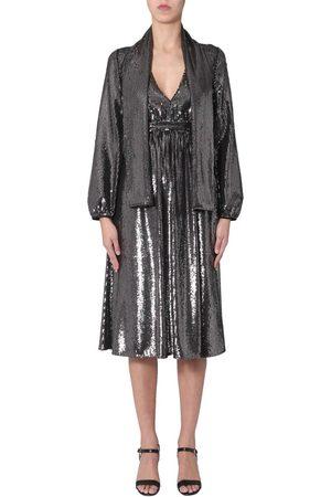 Nº21 V-NECK DRESS