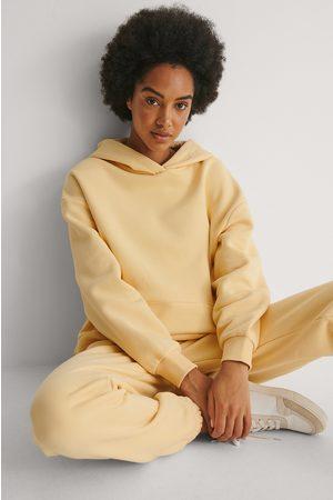 NA-KD Kvinder Sweatshirts - Økologisk Hættetrøje I Overstørrelse Med Lomme
