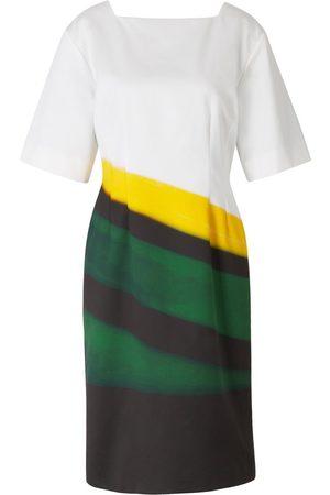 DRIES VAN NOTEN Printed Satin Dress