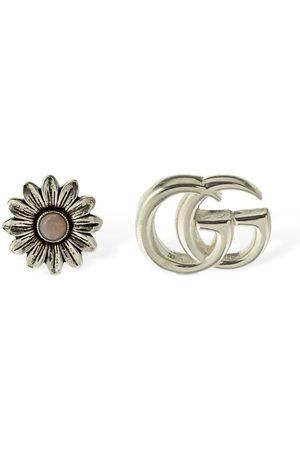 Gucci Kvinder Øreringe - Double G Flower Mother Of Pearl Earrings