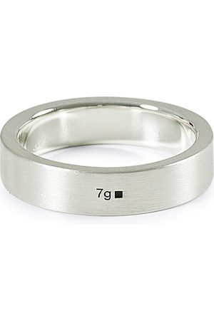 LE GRAMME Ribbon Brushed Ring Sterling Silver 7g