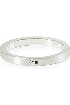 LE GRAMME Ribbon Brushed Ring Sterling Silver 3g