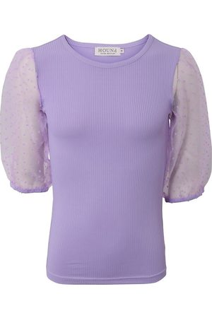 Hound Kortærmede - T-shirt - Lavender m. Tyl