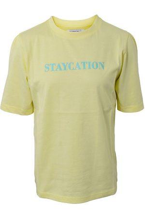 Hound Kortærmede - T-shirt - Warm Yellow m. Tekst