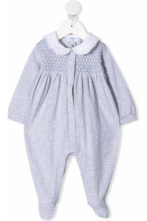Siola Baby Pyjamas - Pyjamas i strækbart bomuld med tekstureret panel