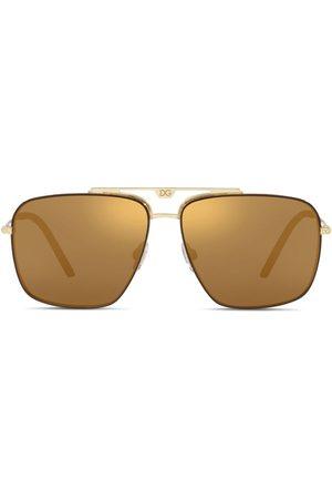 Dolce & Gabbana Mænd Solbriller - Solbriller med navigator-stel