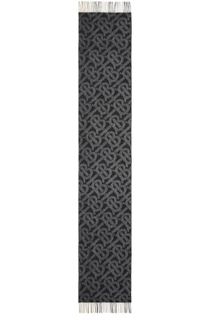 Burberry Ternet vendbart tørklæde med monogram