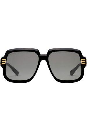 Gucci Oversize solbriller med logo