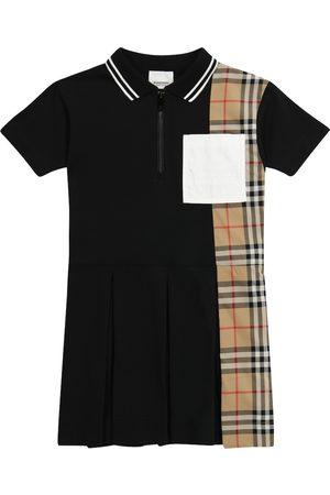 Burberry Vintage Check cotton piqué polo dress