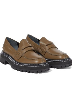Proenza Schouler Slip-on leather loafers