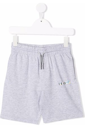 Kenzo Drenge Shorts - Logo-embellished jersey shorts
