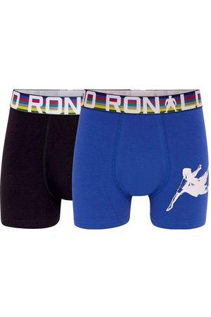 JBS Underbukser - Ronaldo Boxershorts - 2-pak - Blå/