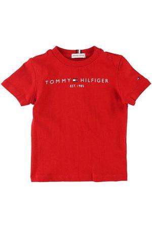Tommy Hilfiger T-shirt - Essential - Organic - Deep Crimson