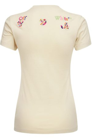 OFF-WHITE Kvinder Kortærmede - Lvr Exclusive Ribbed Basic T-shirt