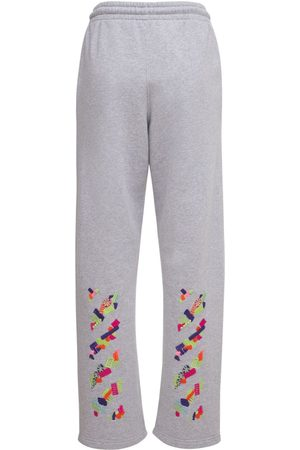 OFF-WHITE Lvr Exclusive Cotton Printed Sweatpants
