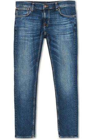 Nudie Jeans Mænd Skinny - Tight Terry Organic Jeans Steel Navy