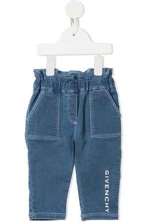 Givenchy Baby Jeans - Logo-print jeans