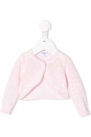 Siola Baby Toppe - Cropped cardigan i strik