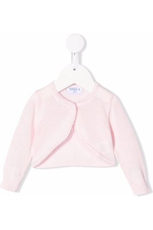SIOLA Baby Toppe - Cropped knit cardigan