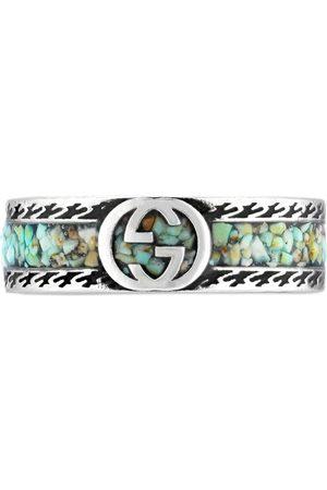 Gucci Mænd Ringe - Interlocking G sterling silver ring