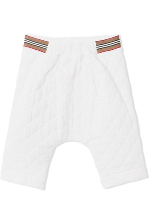 Burberry Kids Piger Chinos - Quiltede cheesecloth-bukser