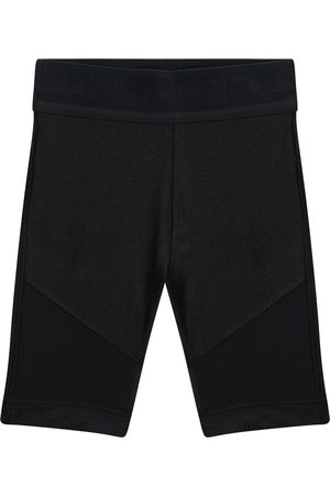 Burberry Stretch-jersey and mesh biker shorts