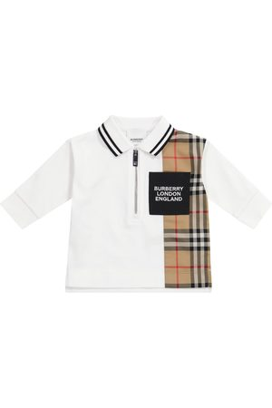 Burberry Poloer - Baby Vintage Check cotton polo shirt