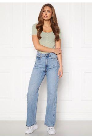 Dr Denim Kvinder Jeans - Echo F27 Blue Jay 25/32