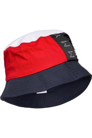 Tommy Hilfiger Mænd Hatte - Tjm Heritage Bucket Hat Cp Accessories Headwear Bucket Hats Blå