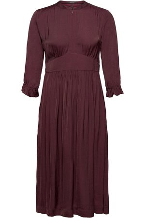 Scotch&Soda Midi Length Dress With Fitted Waist Dresses Cocktail Dresses