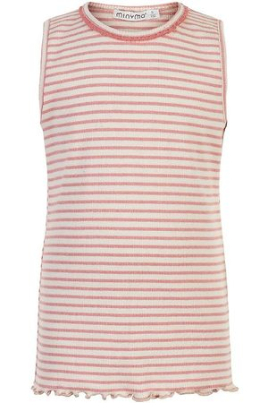 Minymo Tanktoppe - Top - Lobster Bisque m. Striber