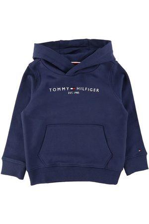 Tommy Hilfiger Sweatshirts - Hættetrøje - Essential - Organic - Twilight Navy