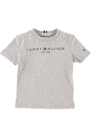 Tommy Hilfiger Kortærmede - T-shirt - Essential - Organic - Gråmeleret