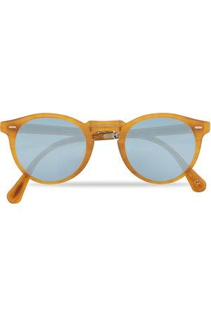 Oliver Peoples Mænd Solbriller - Gregory Peck 1962 Folding Sunglasses Matte Amber