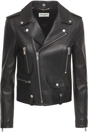 Saint Laurent Kvinder Skindjakker - Leather Biker Jacket