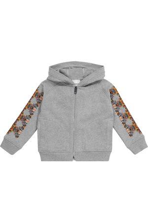 Burberry Kids Drenge Hoodies - Thomas Bear cotton zip-up hoodie