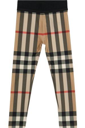 Burberry Piger Leggings - Vintage Check leggings