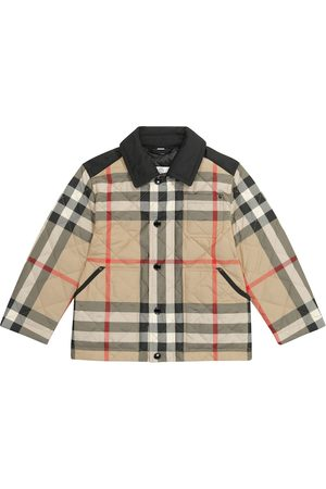 Burberry Archive Check quilted jacket