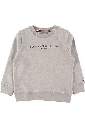 Tommy Hilfiger Sweatshirts - Sweatshirt - Essential - Organic - Gråmeleret