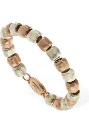 Dodo 9kt Rose Gold & Granelli Ring