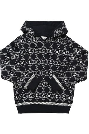Chloé Hooded Cotton & Wool Knit Sweater