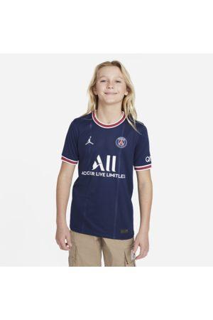 Nike Paris Saint-Germain 2021/22 Stadium-hjemmebanetrøje til større børn