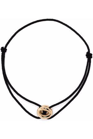 Le Gramme Armbånd - 18kt yellow gold 3g polished entrelacs cord bracelet