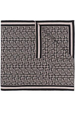 Balmain Mænd Tørklæder - Tørklæde med monogram-mønster