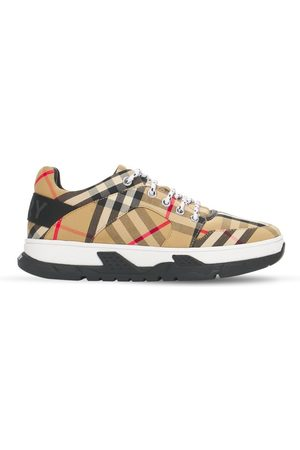 Burberry Drenge Sneakers - Check Cotton Sneakers