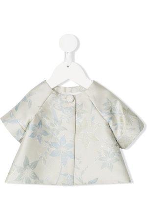 LA STUPENDERIA Piger Bluser - Blomstret bluse i jacquard